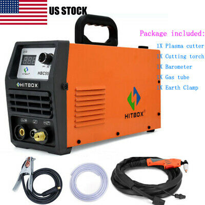 Hitbox Hbc5500 Plasma Cutter 220v Electric Inverter Air Plasma Cutting Machine