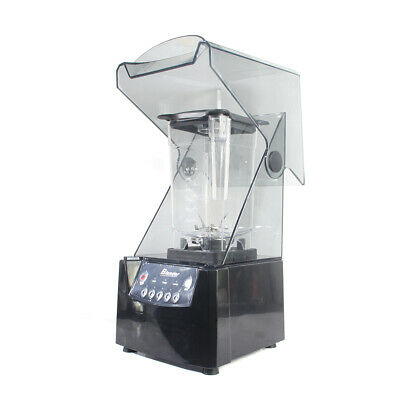 2600w 1.8l Commercial Electric Soundproof Cover Blender Juicer Smoothie Mixer Us