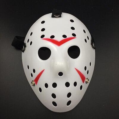 Jason Voorhees Scary Prop Hockey Halloween Cosplay Creepy Mask Friday 13th Best