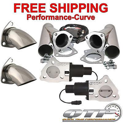 """QTP Quick Time Performance 2.5"""" Electric Exhaust Cutout Kit - QTEC50CPS-K1"""
