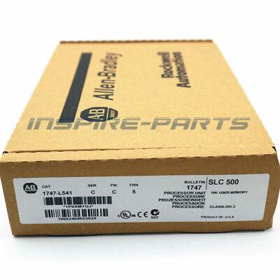 Factory Sealed Allen Bradley 1747-l541 Slc 500 Cpu Controller Processor Module