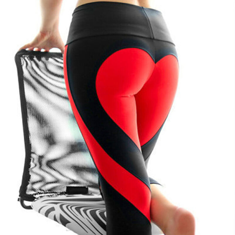 Women Butt Lift Yoga Pants High Waist Leggings Fitness Exercise Sports Trousers 4