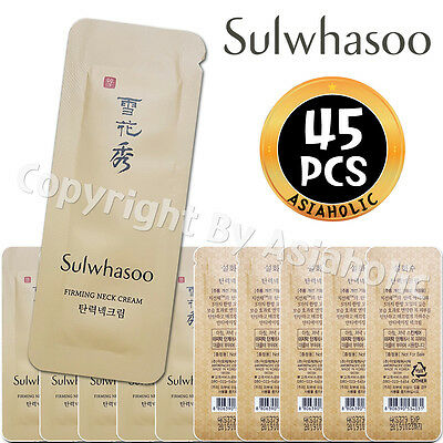 Sulwhasoo Firming Neck Cream 1ml x 45pcs (45ml) Sample AMORE PACIFIC Newist Ver