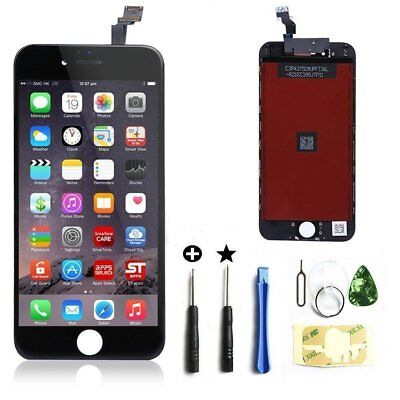 """For iphone 6 plus 5.5"""" lcd screen replacement digitizer raise display black tool"""