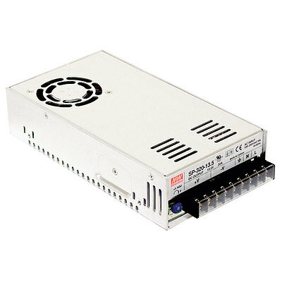 Mean Well 300 Watt Single Output Acdc Enclosed Switching Power Supply With Pfc