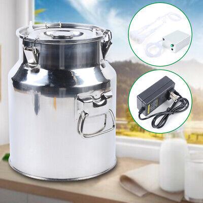 14l Vacuum Pump Electric Milking Machine For Goat Milk