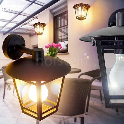 Wand Leuchten Aussen Down Veranda Terrassen rostfarben Lampen Garten Beleuchtung