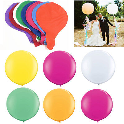 1PCS 36 Inch 90cm Large Giant Oval Latex Big Balloon Wedding Party Decoration