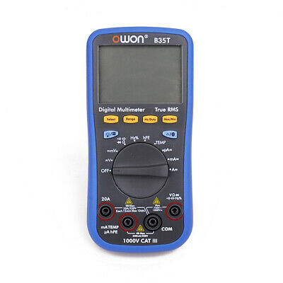 Owon B35t 3 56 Digital Multimeter With Bluetooth True Rms Multifunction Meter