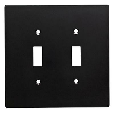 - W32734-FB Subway Tile Double Switch Cover Plate