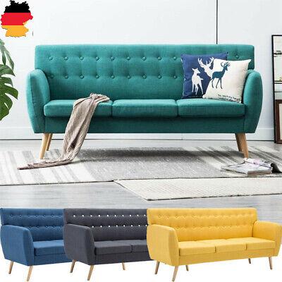 3-Sitzer Sofa Polstersofa Loungesofa Stoffbezug Couch Sofagarnitur Stoffsofa NEU