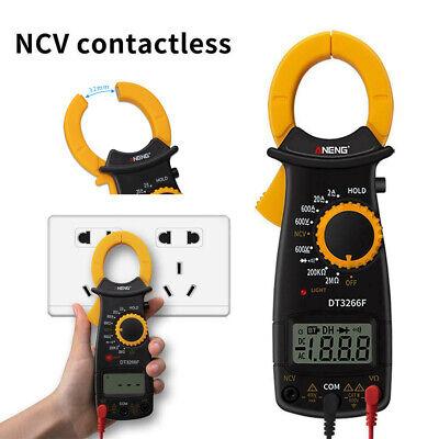 Digital Amper Clamp Meter Multimeter Ncv Current Clamp Pincers Voltmeter Tool