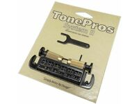 AVT2M-N TonePros Nickel Finish Wraparound Bridge for PRS SE Metric