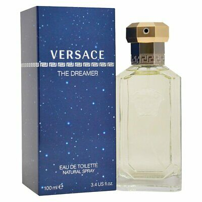 RRP £56 BRAND NEW SEALED VERSACE The Dreamer Eau de Toilette for him 100ml mens.