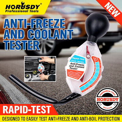 Pro Professional Anti-Freeze & Coolant Tester Radiator Water Test Check Measure