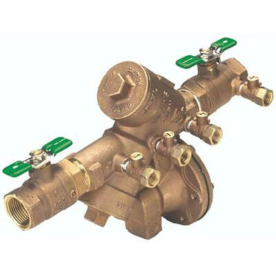 3/4 in. Lead-Free Bronze Reduced-Pressure Backflow Preventer by Zurn-Wilkins