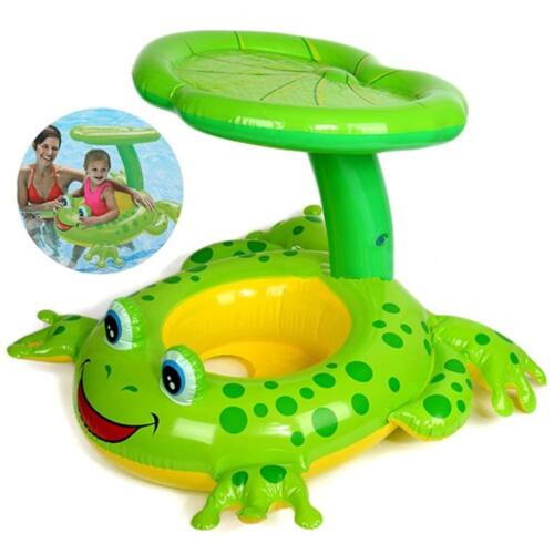 Baby Schwimmhilfe Frosch - Schwimmsitz Babysitz Schwimmreifen - Kinder Babyboot