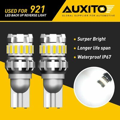 AUXITO 921 912 T15 18SMD LED Reverse Back up Light Bulb 6500K White Error Free G