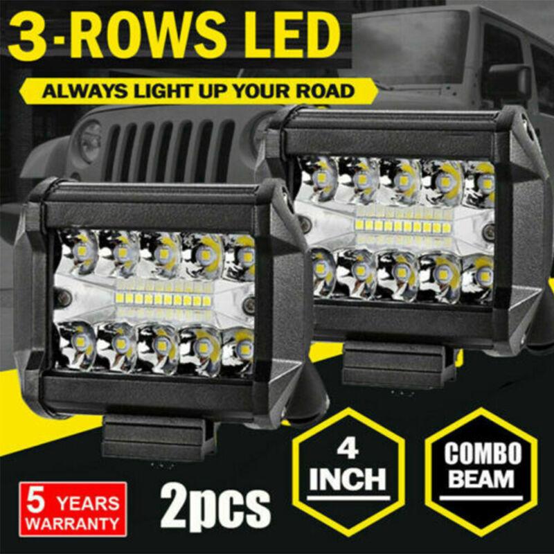 580W 4Inch LED Combo Work Light Spotlight Off-road Driving Fog Lamp Truck Boat