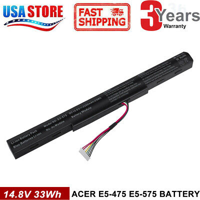 33Wh Battery for Acer Aspire E15 E5-575 E5-575G E5-576G AS16A5K AS16A7K AS16A8K