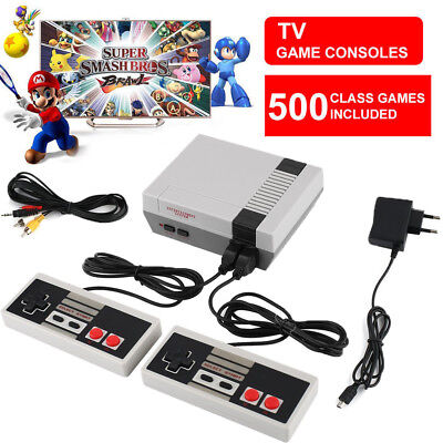 NES Mini Classic Edition Games Console with 500 Classic Nintendo Games IT stock