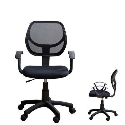 Modern Ergonomic High-back Mesh Computer Office Chair Task Swivel Black