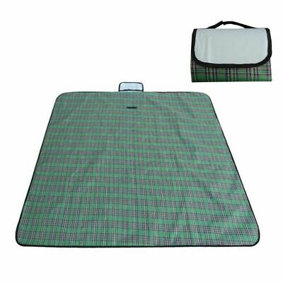 Portable Folding Outdoor Waterproof Picnic Blanket Plaid Camping Beach Mat Pad  (Plaid Picnic Blanket)