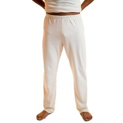 Organic Cotton Mens Pajama Pants Dye-Free Sleepwear Best For Dermatitis