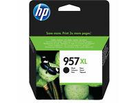 Original HP 957XL (953XL Extra High Capacity) Black Ink Cartridge