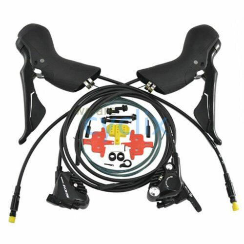 New 2021 Shimano 105 ST-R7020 BR-R7070 Hydraulic Road Disc Shifter Brake set