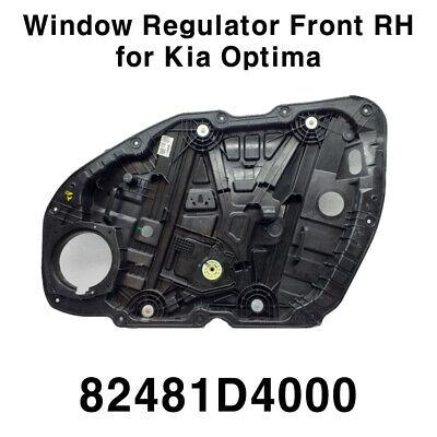 OEM 82481 D4000 Power Window Regulator Front Right for Kia Optima 2016-2021