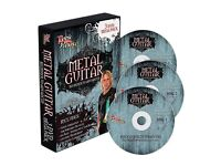 """The Rock House Method """"Metal Guitar 3 DVD Pack With Tab""""."""