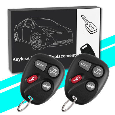 2 for Chevy Malibu Astro 2001 2002 2003 2004 2005  keyless entry remote key fob
