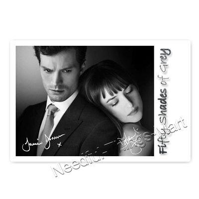 Jamie Dornan & Dakota Johnson in Shades of Grey - Autogrammfotokarte [AK3]