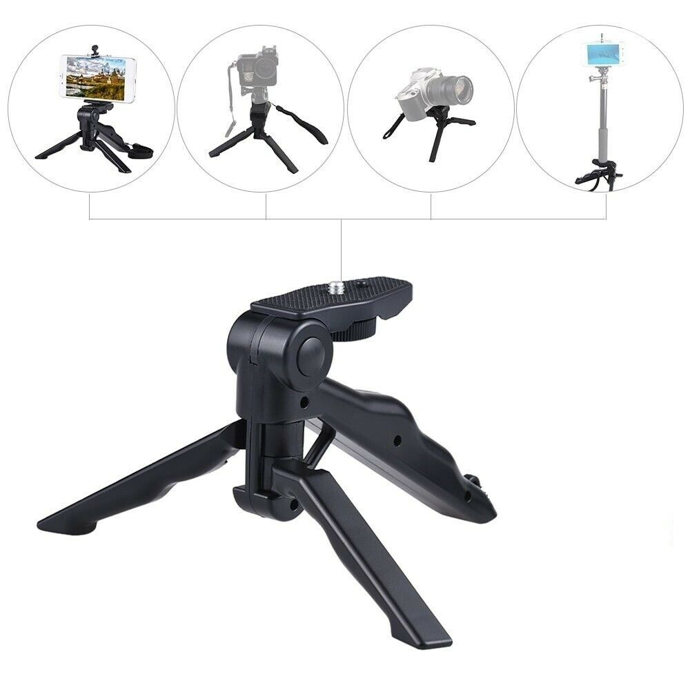 Universal Mini Tripod Hand Grip Tabletop Travel Tripod Stabi