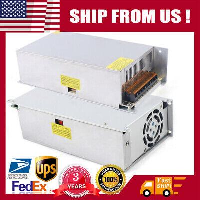 Ac 110v220v To Dc 12v 50a Amp Switch Power Supply Adapter For Led Strip Light