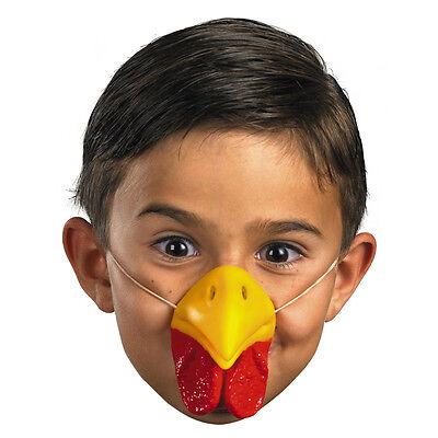 Chicken Beak Mask Rooster Bill Animal Costume Turkey Waddle Chin Nose Mouth Bird