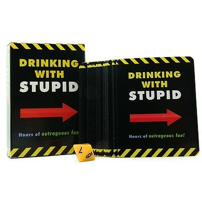Drinking With Stupid Card Game   Adult Fun Party Game