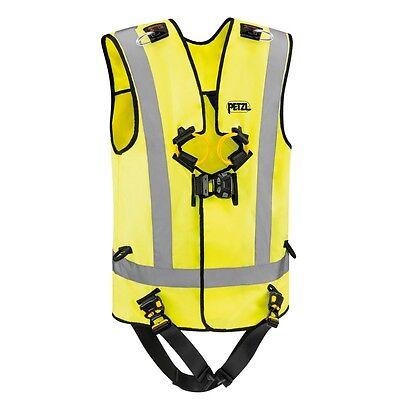 Petzl Newton Easyfit Hi-viz Harness With Fast Buckles Vest Ansi Csa Size 1