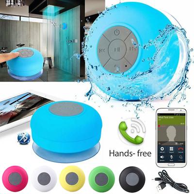 Mini Portable Bluetooth Waterproof Speaker Shower Car Bath M