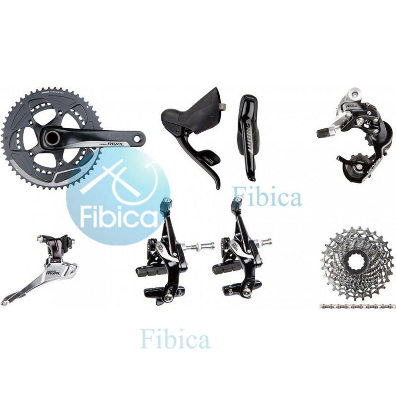 New SRAM Rival 22 Road Group Groupset 11-speed