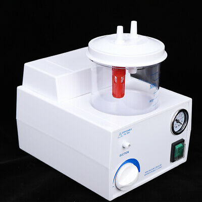 1000ml Portable Tabletop Phlegm Suction Unit Machine Medical Aspirator Homecare
