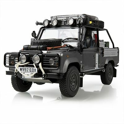 Genuine Land Rover Gear Defender Tomb Raider / Movie Edition - 1:18 Scale Model