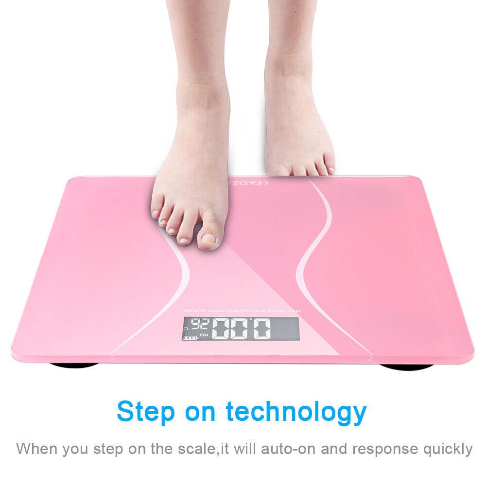 led display digital body weight bathroom scale