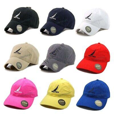 New Nautica Hat Cap Women Men Baseball Golf Ball Sport Outdoor Casual Sun Cap