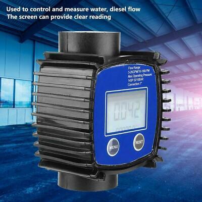 Digital High Accuracy Water Fuel Oil Diesel Flow Meter Flowmeter 5-120lmin