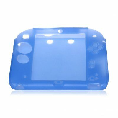 Protective Silicone Skin Case Cover for 2DS Blue V3G7 3g Blue Skin
