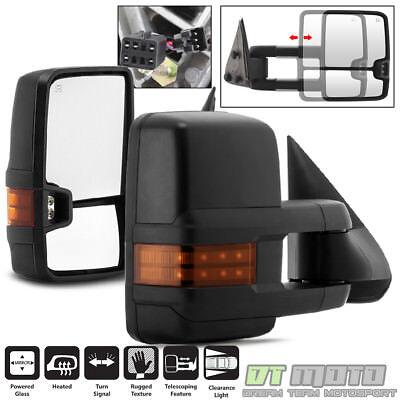 G2 L+R 99-02 Chevy Silverado GMC Sierra Power+Heated+LED Signal Tow View MIrrors