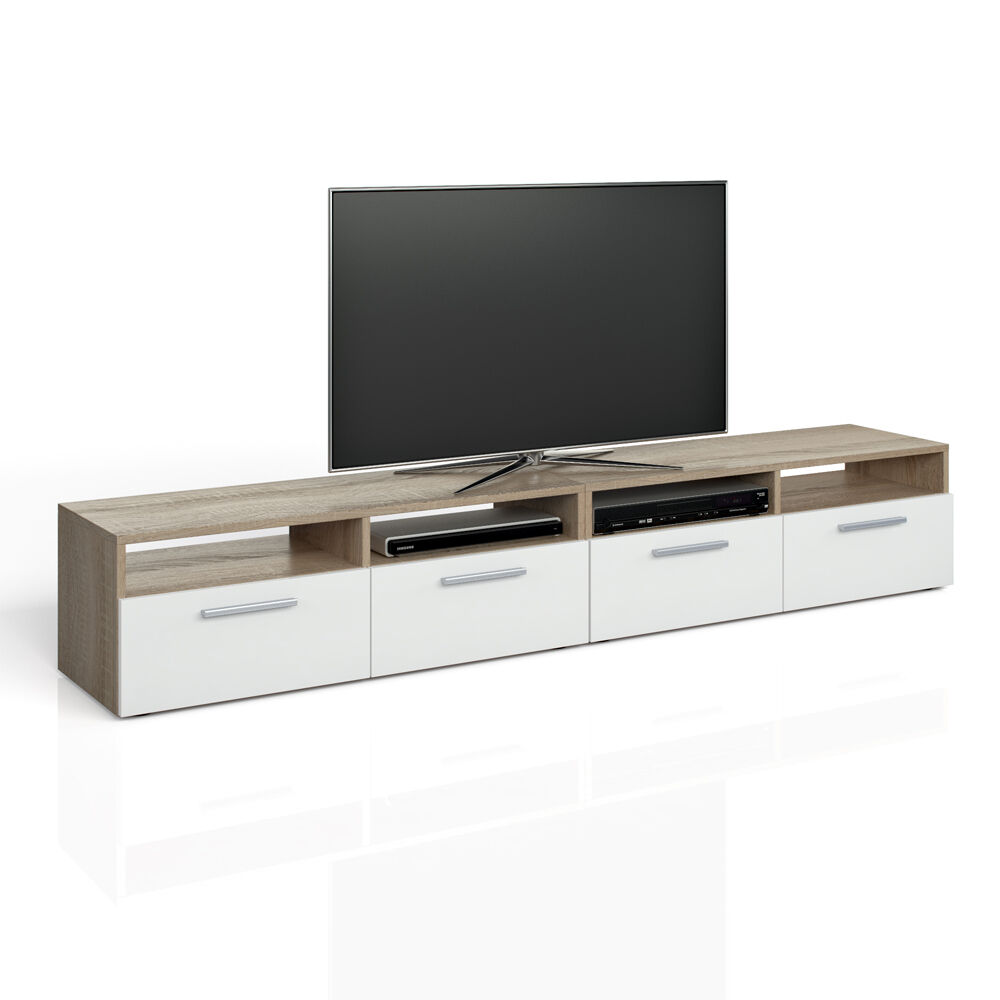 vicco lowboard set diego 180 cm fernsehtisch sideboard. Black Bedroom Furniture Sets. Home Design Ideas