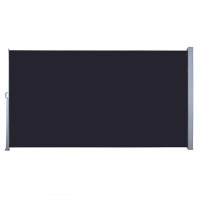 5.9'x9.8' Sunshade Retractable Side Awning Outdoor Privacy Divider Wind Screen ()